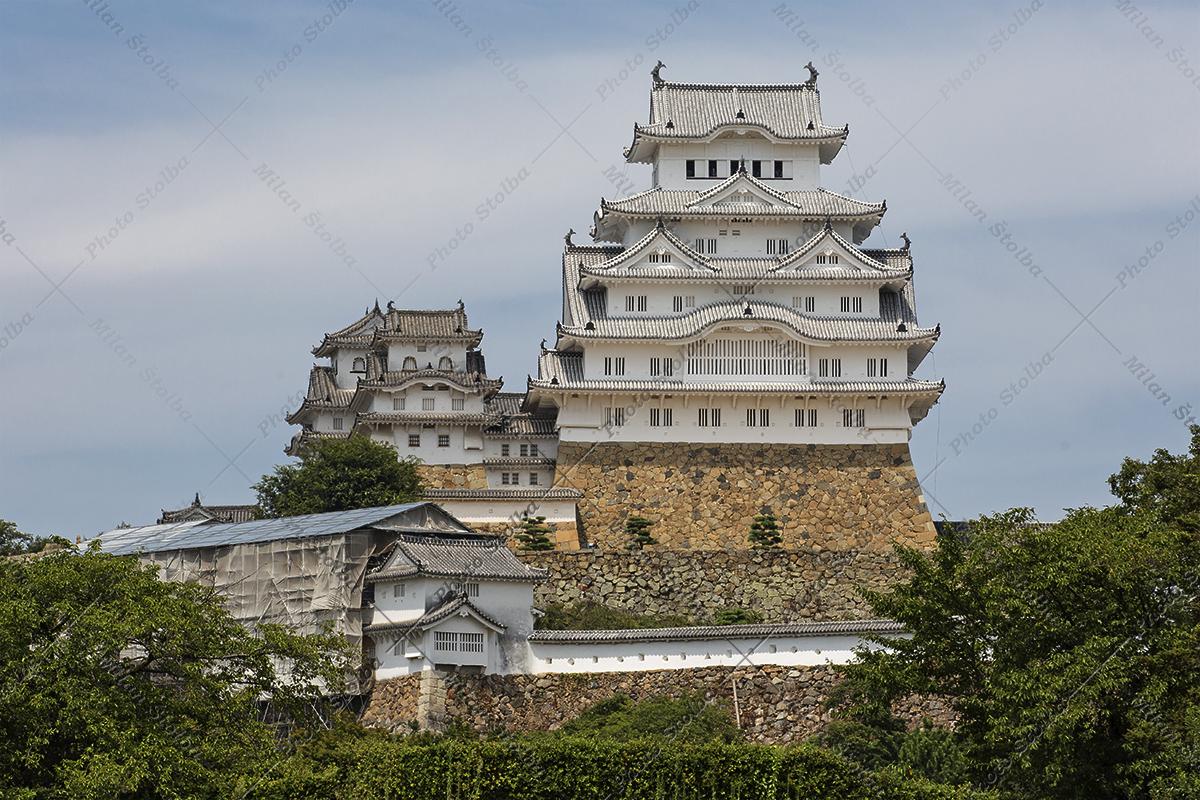 Hrad Himeji - Japonsko
