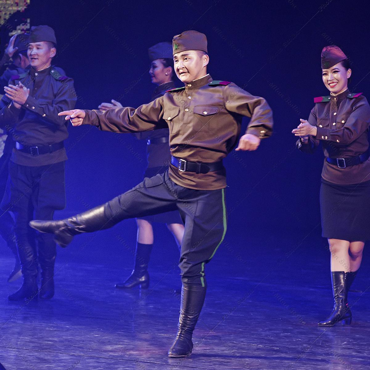 Mongolsko - Soubor pohraničníků